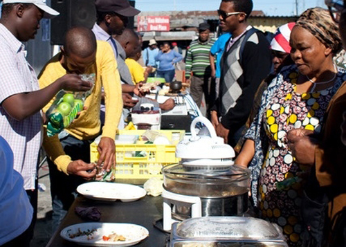 Nutrition in the townships