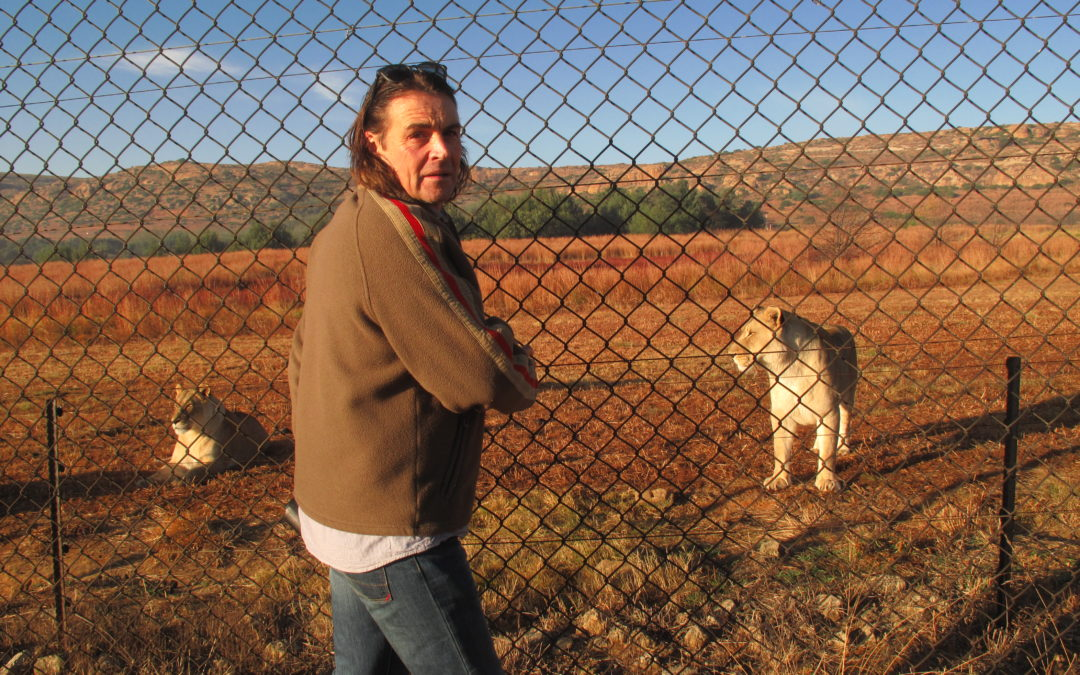 Alumnus Ian Michler celebrates the end of captive predator breeding and canned hunting